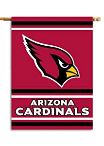 NFL Arizona Cardinals 2-Sided 28-by-40-Inch House Banner by Fremont Die