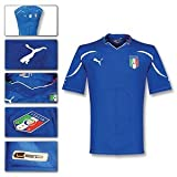 Italy Home Authentic Jersey World Cup 2010