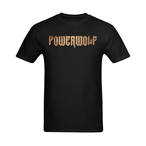 Men's Powerwolf Logo Design T Shirt
