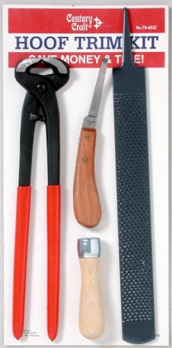 Farrier Hoof Trim Tool Kit 4 Piece