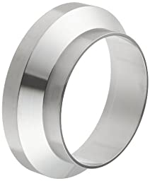 Dixon 15WI-R300 Stainless Steel 316L Sanitary Fitting, Female I-line Short Weld Ferrule, 3\