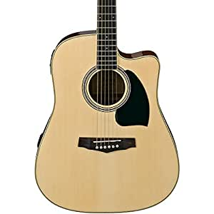 Ibanez PF15ECENT Performance Dreadnought Acoustic Electric Guitar available at Amazon for Rs.29094