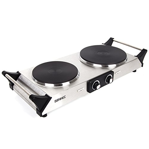 duronic-hp2ss-2500w-stainless-steel-1500w-1000w-portable-cooker-table-top-cooktop-hot-plate-boiling-
