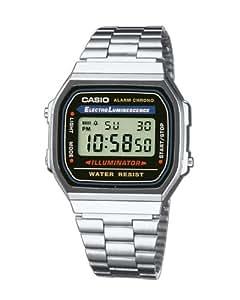 Casio Collection Herren-Armbanduhr Digital Quarz A168WA-1YES