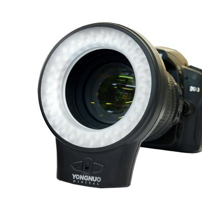 Yongnuo Wj-60 Macro Photography Continuous Ring Led Light For Canon Nikon Olympus And Digital Slr Cameras