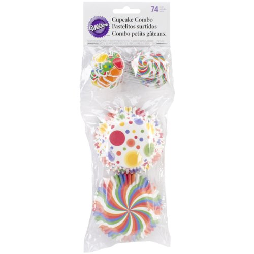 Wilton 415-8119 Combo Candy Cupcake Decorating Kit - 1