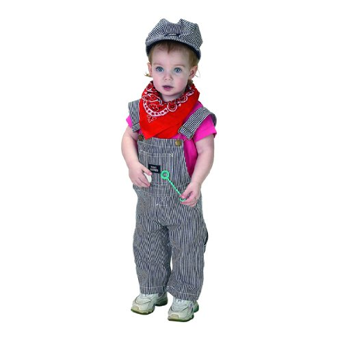 Jr. Train Engineer Suit Toddler Costume