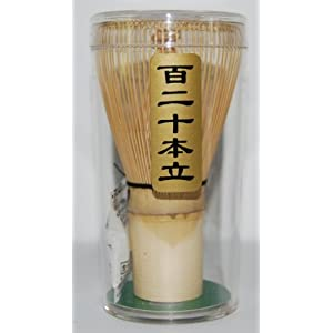 Japanese Tea Ceremony Chasen Bamboo Whisk 120-tate