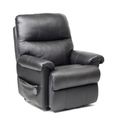 BORG DUAL MOTOR RISE AND RECLINE CHAIR in Black £749.99
