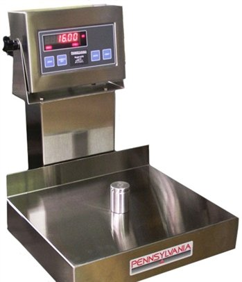 Summit Measurement Ss6200 Stainless Steel Bench Scale Made In Usa