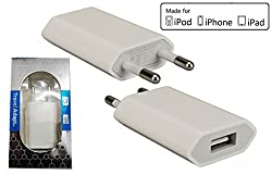 Shopkeeda Wall Charger Compatible with Apple iPhone 5 - Only Adapter