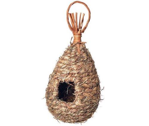 Karlie Vogelnest aus Gras - Größe L, für Vögel,