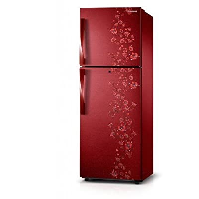Samsung RT26H3000RX/TL Frost-free Double-door Refrigerator (255 Ltrs, 2 Star Rating, Orcherry Garnet Red)