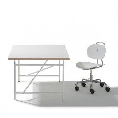 kinderschreibtisch eiermann 150 75 cm wei richard lampert m bel com forafrica. Black Bedroom Furniture Sets. Home Design Ideas
