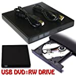 External USB 2.0 Slim DVD CD R/RW Dri...
