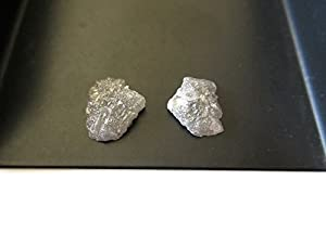 Approx 12x9mm/Unique Natural Rough Raw Diamond Identical Matched Pairs/One Of A Kind Diamonds/Sku-Dd153/1