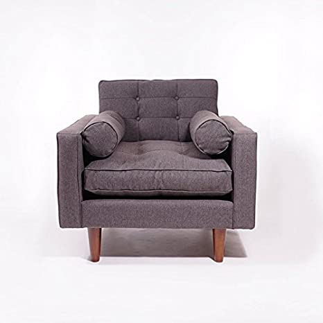 Luca Armchair Feather Filled Premium Quality Deluxe Harrier Grey