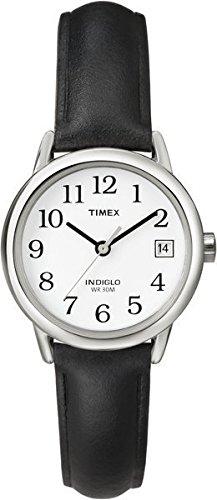 Timex Classic T2H331 Orologio Analogico da Polso da Donna, Pelle, Nero