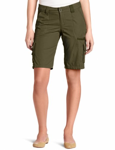 Dickies Women's 11 Inch Relaxed Cargo Short, Grape Leaf Green, 18