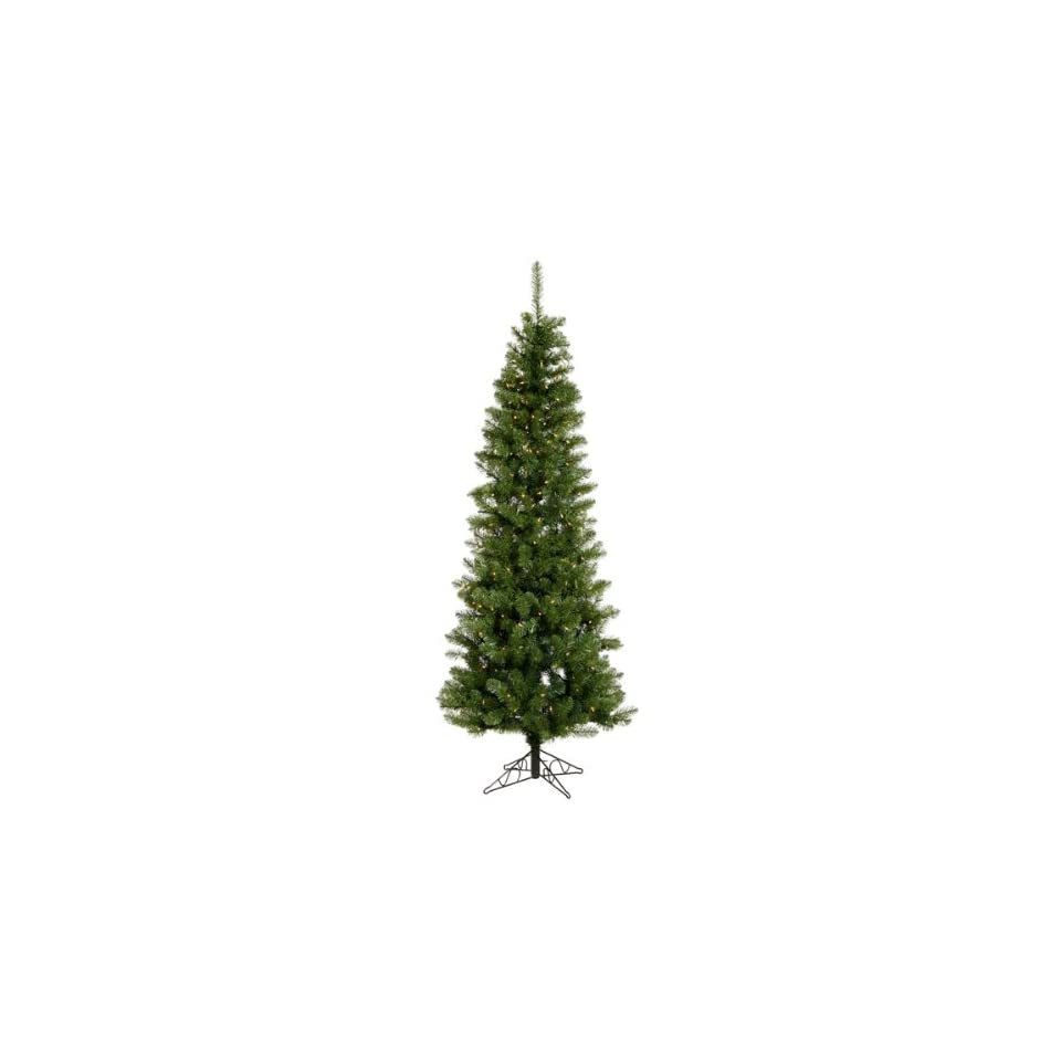 9.5 x 44 Salem Pencil Pine Christmas Tree w/ 1171T 450 LED Frosted WmWht Lights