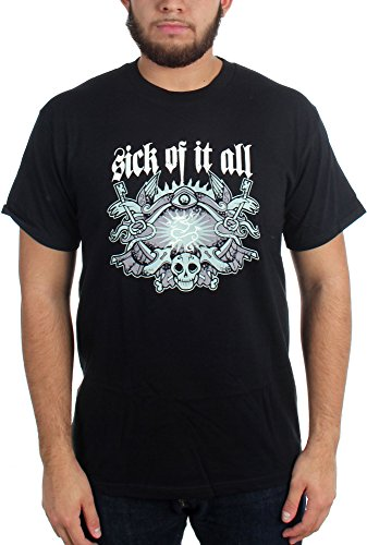 Sick Of It All -  T-shirt - Uomo nero Large