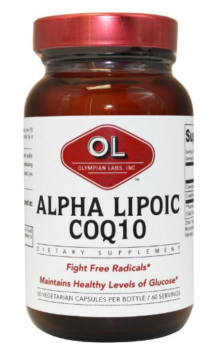 Olympian Labs 100mg of Coq10 and 100mg of Alpha
