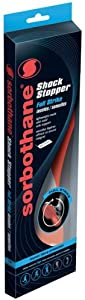 Sorbothane Full Strike Insoles - Red/Grey, Size 10