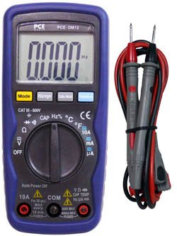 PCE-DM12 Voltmeter / Multimeter