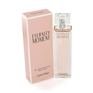 Eternity Moment by Calvin Klein for Women - 3.4 Ounce EDP Spray