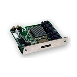 Hardware RAID Port Multiplier bridge up to FIVE SATA ports - SiI-4726