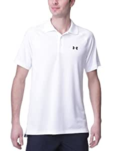 Under Armour UA Catalyst Text Sld Polo manches courtes homme Blanc M
