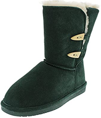 Bearpaw Women's Abigail Boot (5 B(M) US, Emerald)