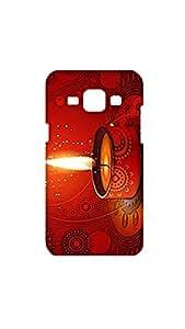 Happy Deepawali Festival Of Lights Designer Mobile Case/Cover For Samsung Galaxy J1
