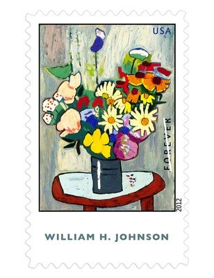 William H. Johnson US stamps
