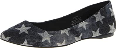 Coconuts by Matisse Women's Justice Flat,Black Multi,8.5 M US