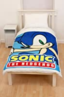 Character UK - Sonic The Hedgehog couverture polaire Face 150 x 120 cm