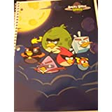 Angry Birds Spiral Notebook By Mead ~ Space Birds (College Ruled, 80 Sheets)
