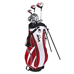Buy Voit V7 Mens All GRAPHITE Golf Club Set & Stand Bag by Voit
