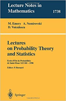 lecture notes on probability and statistics in pdf