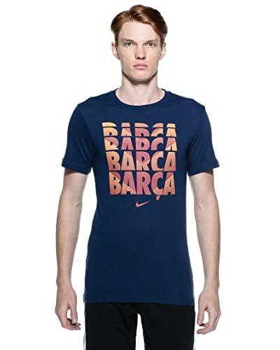 Nike  Fcb Core Type T-Shirt [Blu]