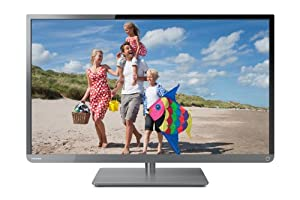 Toshiba 32L2400U 32-Inch 1080p 120Hz LED HDTV (Black/Gun Metal)