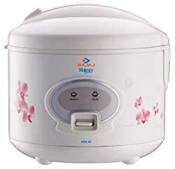 Bajaj Majesty RCX 21 1.8-Litre 550-Watt Rice Cooker