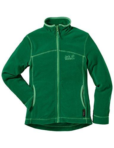 jack-wolfskin-giacca-in-pile-bambino-woodpecker-ii-nanuk-verde-cucumber-green-104-cm