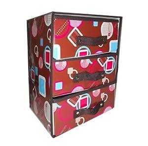 090302 scatola armadio box porta oggetti nero arancio for Armadio amazon
