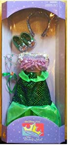 Ariel Clothes for My Disney Girl 18 inch Doll American NEW