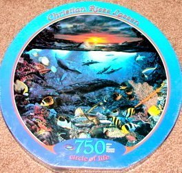 "750pc. ""Circle of Life"" Christian Riese Lassen Puzzle"