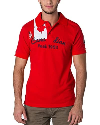 CANADIAN PEAK Polo Kailor Rojo