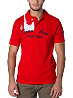 CANADIAN PEAK Polo Kailor (Rojo)