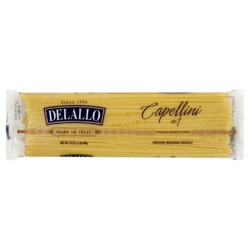 DeLallo Capellini, Bag, 1-pounds (Pack of 8)