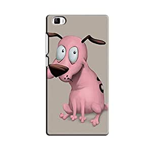 PINK DOG BACK COVER FOR XIAOMI MI5